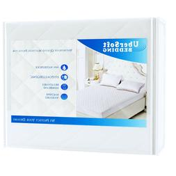 UberSoft Bedding Mattress Protector Pad for Queen Bed: Cover