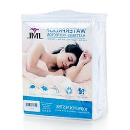 Jml Mattress Protector Waterproof Microfiber Surface - Up To