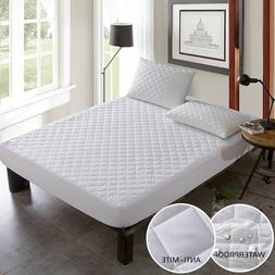 Cover Mattress Protector Waterproof Pad Bed Sheet Washable I