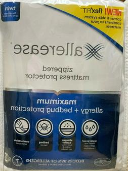 Maximum Bed Bug and Allergy Mattress Protector White  - Alle