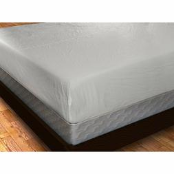 New Waterproof Fitted Vinyl Mattress Cover Bed Bug Dust Mite