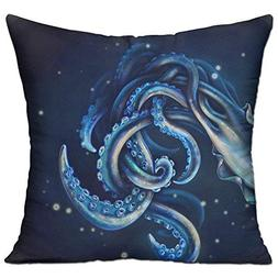Banana& Ocean Octopus Cushion Cover Polyester Cover Pillow C
