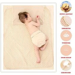 Organic Cotton Waterproof Newborn Infant Baby Bassinet Beddi