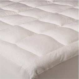 Mezzati Pillowtop Quilted Mattress Topper - with Fitted Skir
