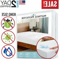 Papahome Hypoallergenic Knitted Polyester Mattress Protector