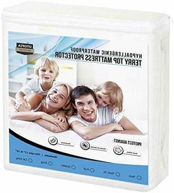 Hypoallergenic Waterproof Mattress Protector Fitted Premium