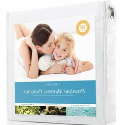 Premium Mattress Protector Waterproof Noiseless Hypoallergen