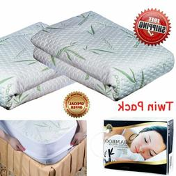 Premium Bamboo Waterproof Mattress Protector Queen Size Mach
