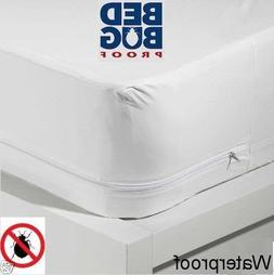 PROTECT MY MATTRESS Cover All SIZES BED BUG + ALLERGY WATERP