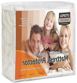 Protector King Size Bed Bug Dust Mite Waterproof Cover Pad D