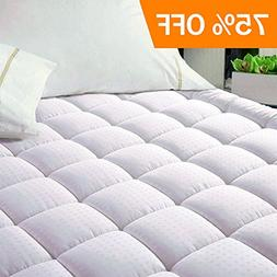 EASELAND Quilted Fitted Cooling Mattress Pad -Mattress Cover