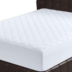 Utopia Bedding Quilted Fitted Mattress Pad, Full Size -16-in