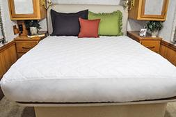 AB Lifestyles RV/Camper Short Queen 60x75 Extra Deep Quilted