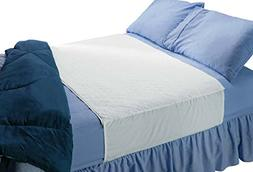 Saddle Style Absorbent Bed Pad with Tuck in sides  - Waterpr