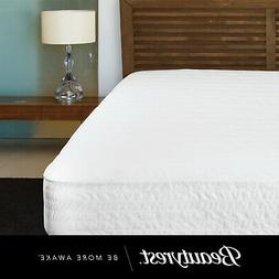 Soft Mattress Pad Cover Cotton Top Bed Protector Topper Twin