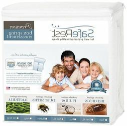 SafeRest Premium Box Spring Encasement - Lab Tested Bed Bug