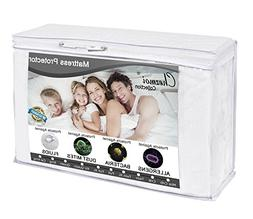 Chezmoi Collection Premium Terry Cloth Mattress Protector -