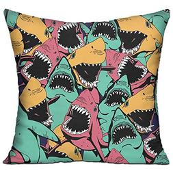 Banana& Throw Pillow Cases Cushion Protector for Sofa Bedroo