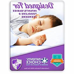 Toddler Waterproof Sheet and Mattress Bed Wetting Protector.