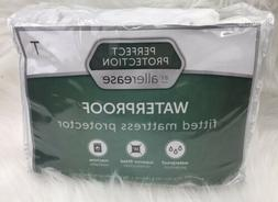 Twin Fitted Mattress Protector Waterproof By Allerease New P