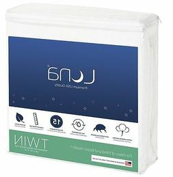 Twin Size Luna Premium Hypoallergenic Waterproof Mattress Pr