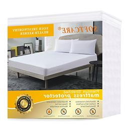 SOFTCARE Twin XL Size Mattress Protector Premium 100% Waterp