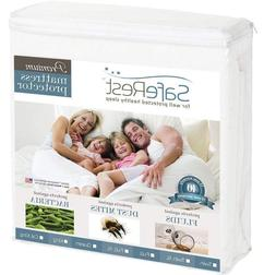twin size premium hypoallergenic waterproof mattress protect