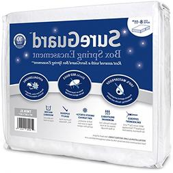Twin XL SureGuard Box Spring Encasement - 100% Waterproof, B