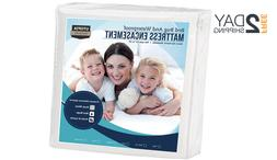 Utopia Bedding Zippered Mattress Encasement Waterproof Mattr