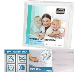 Utopia Waterproof Mattress Protector Bedding Zippered Cover