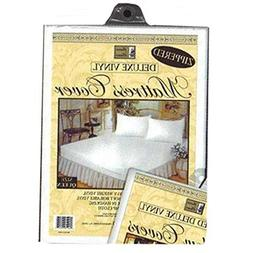 Vinyl Mattress Covers-Fitted Queen, Vinyl, Queen - 1 Pkg