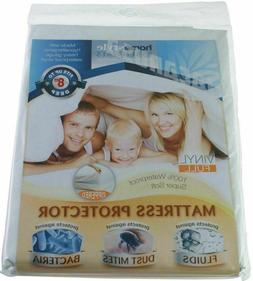 Vinyl Mattress Protector-Waterproof & Dust Mite Proof Durabl