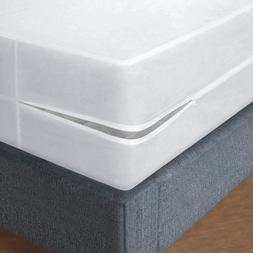Royal Mystique Vinyl Zippered Mattress Cover - Waterproof, H