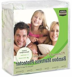 waterproof bamboo mattress protector twin