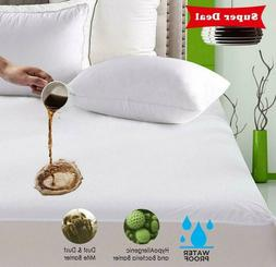 Waterproof Full Queen King Size Mattress Protector Bed Cover