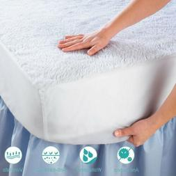 WATERPROOF MATTRESS COVER King Queen Full Twin Hypoallergeni