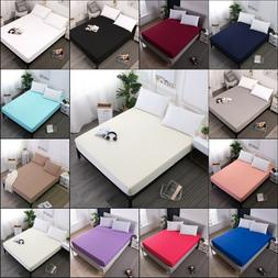 Waterproof Mattress Cover Protector Bed Pad Cover Fitted She