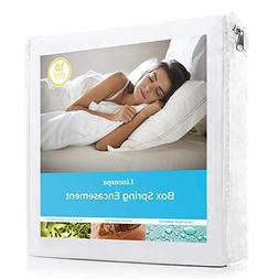 LINENSPA Waterproof Mattress Encasements Bed Bug Proof Box S