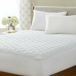 LINENSPA Waterproof Mattress Pad with Deep Pocket Fitted Ski