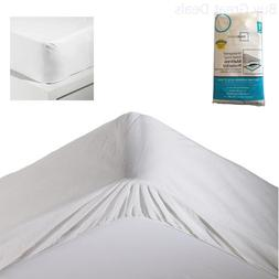 Waterproof Mattress Pad Protector Vinyl Cover Bed Twin Size