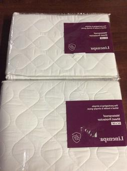 Linenspa WATERPROOF Mattress Pad - Protector your Sheets Fro