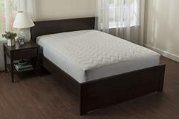 fitted quilted mattress pad cotton