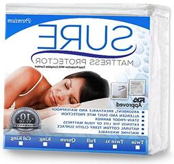 100% Waterproof Mattress Protector - Anti-Allergenic Breatha