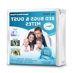 Mattress Protector & Allergen Bed Cover Pads - Queen, King,