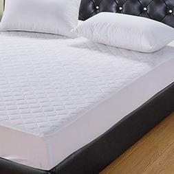 SPINOVO Waterproof Quilted Fitted Mattress Protector - Hypoa