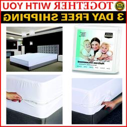 Waterproof Twin XL Mattress Cover Protector Encasement Pad F