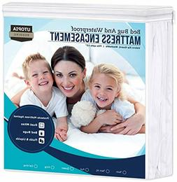 Utopia Bedding Zippered Mattress Encasement - Waterproof Mat