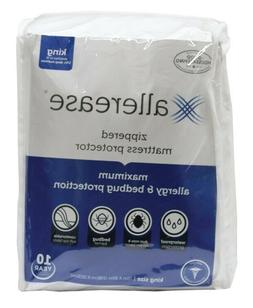 Zippered Mattress Protector Water Bed Bug Proof Pad Hypoalle